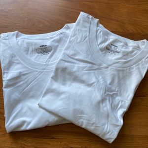 Men's 2 white shirt Adidas